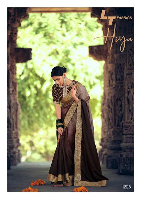 Buy Lt Fabrics Hiya Latest Sarees Catalog Online Wholesaler