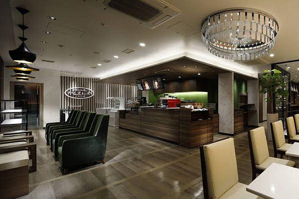 thiết kế quán cafe khách sạn