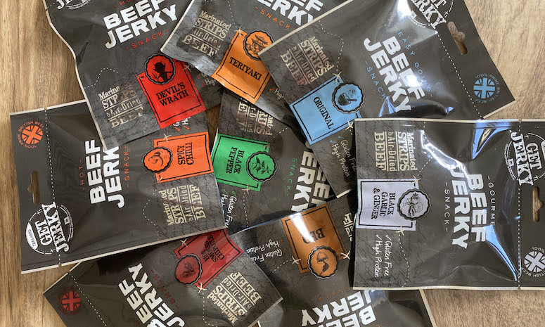 Welshpool beef jerky sold at Selfridges