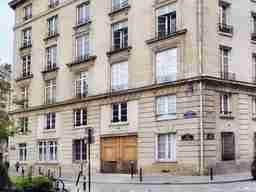 エミリー、パリへ行く Emily's home 5th floor at Building 1 Place de l'Estrapade