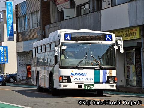 西鉄 那珂川 1254_02 渡辺通幹線バス