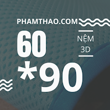 Nem 3D mat Ngoc Thao 60x90cm
