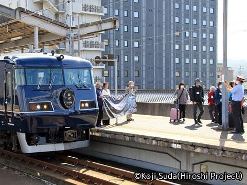 JR西日本 117系「WEST EXPRESS銀河」 出雲市駅にて_06