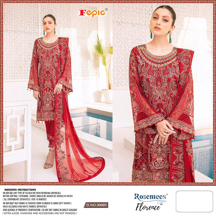 Buy Fepic Rosemeen Florence Pakistani Unstitched Ladies Suit