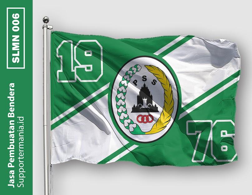Desain Bendera atau Mini Flag PSS Sleman dan BCS 6