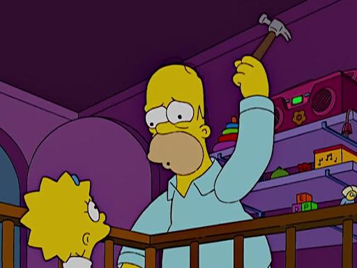 Los Simpsons 15x08 Marge contra los solteros, adultos mayores, parejas sin hijos, adolescentes y gay