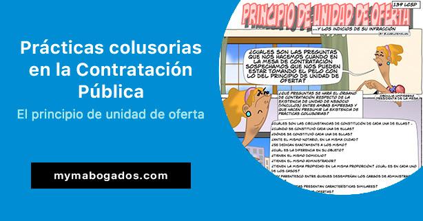 Prácticas colusorias en la Contratación. El principio de unidad de oferta | Melián Abogados