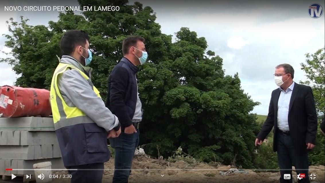 Video - Novo circuito pedonal em Lamego