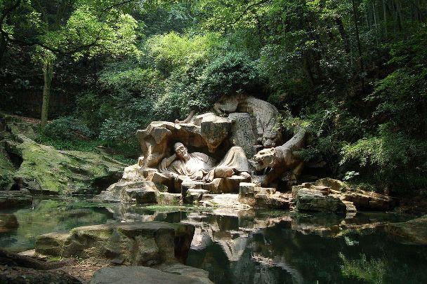 Hupao Spring in Hangzhou