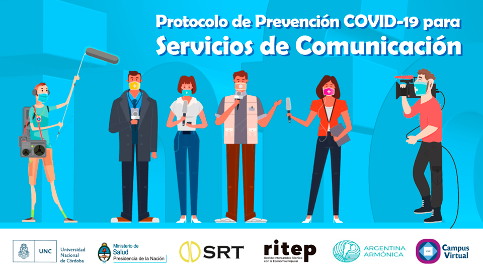 PREVENCIÓN COVID-19 PARA SERVICIOS DE COMUNICACIÓN