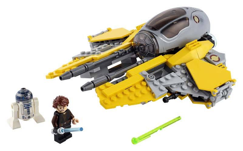 Contenido de Lego® 75281 Interceptor Jedi™ de Anakin