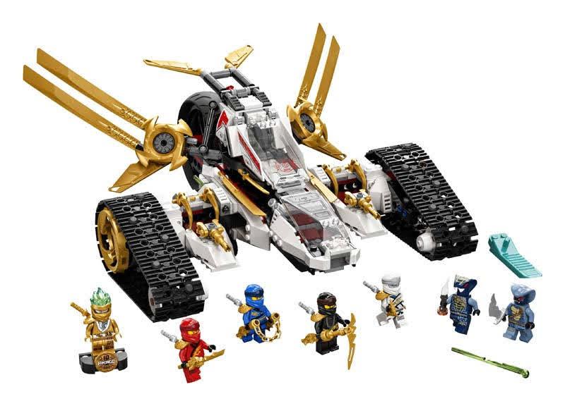 Contenido de LEGO® 71739 Vehículo de Asalto Ultrasónico