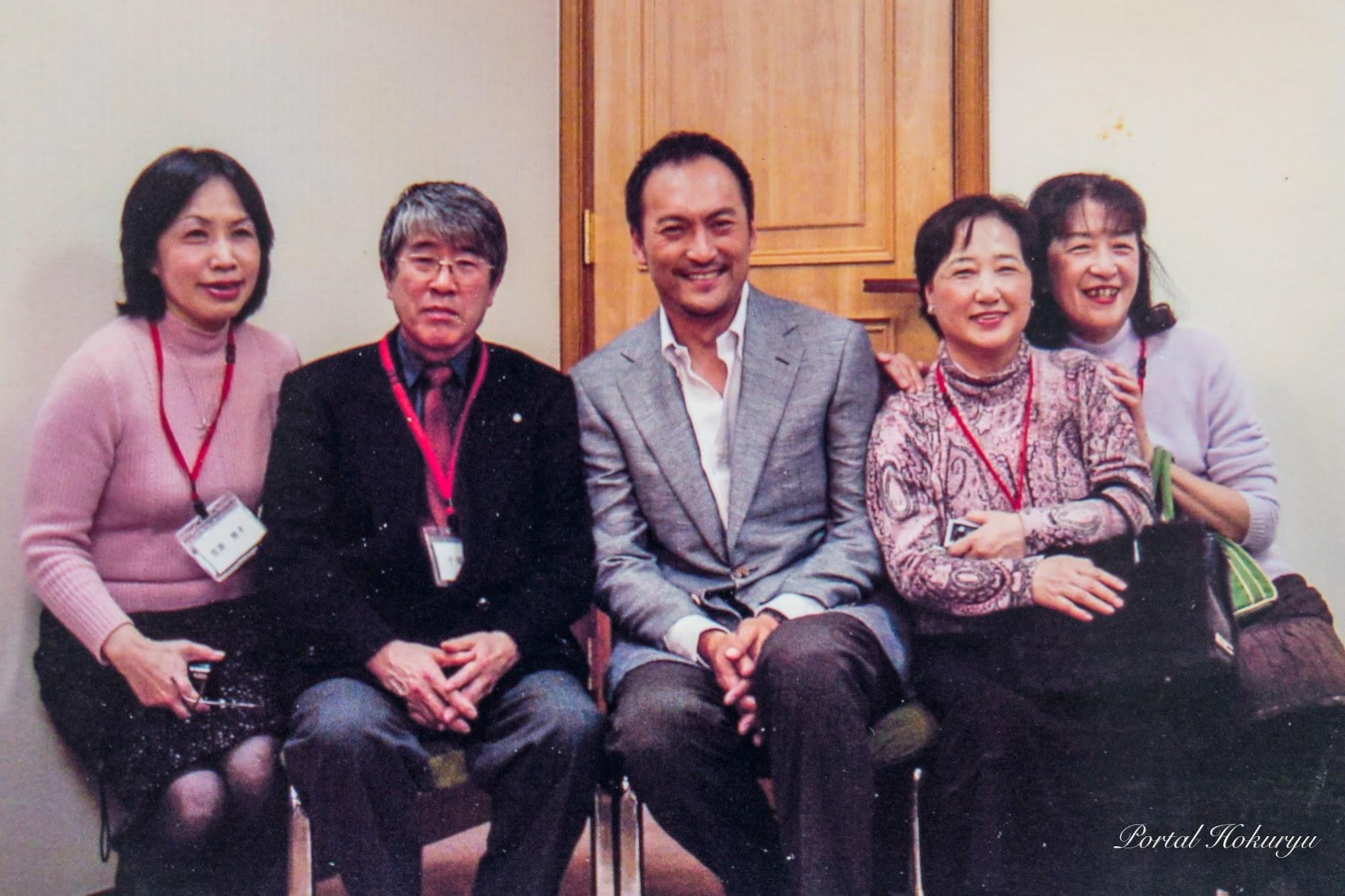 渡辺謙さんと家族会メンバーの方々とご一緒に!!!