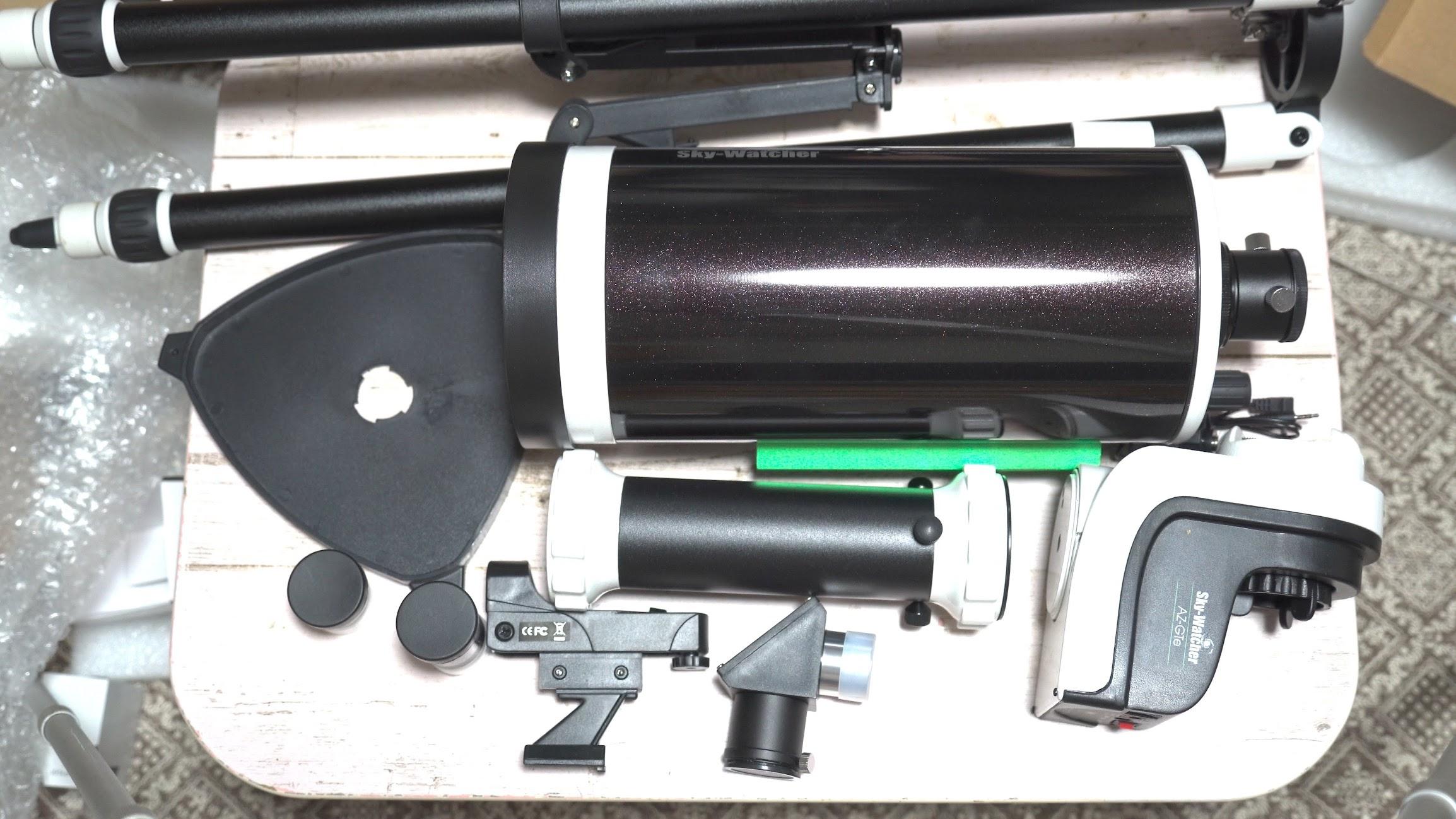 マクストフカセグレン式望遠鏡「Sky-Watcher AZ-GTe MAK127」