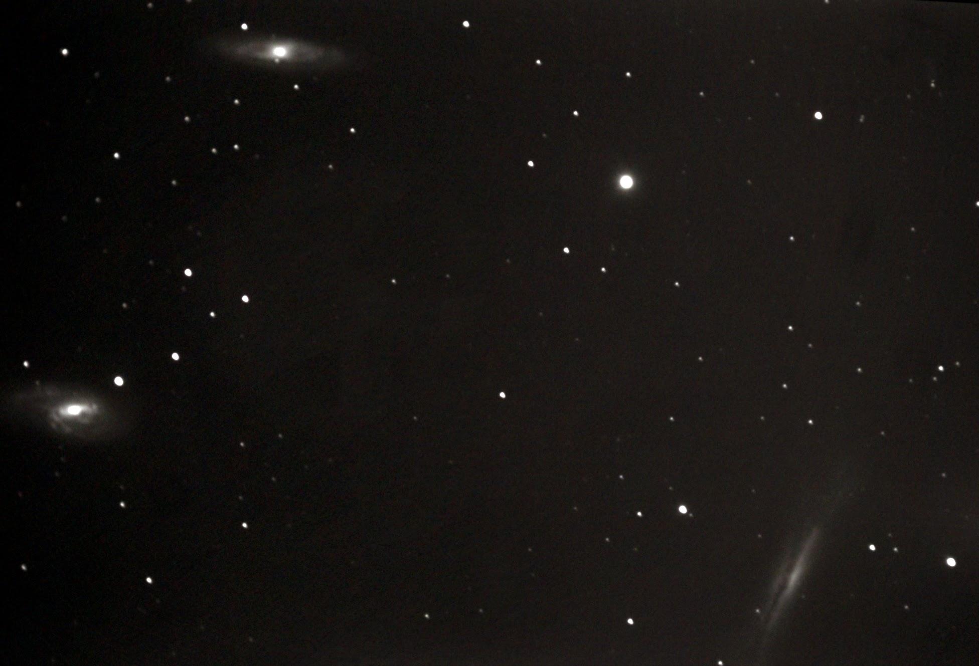 M66 M65 NGC3628:しし座の三つ子銀河