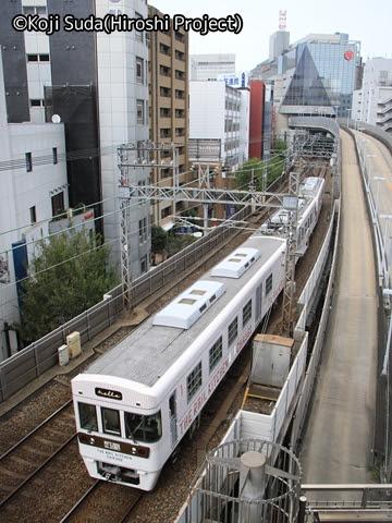 西鉄 6050形改造「THE RAIL KITCHEN CHIKUGO」 ランチコース 福岡(天神)発車