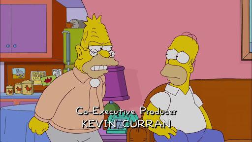 Los Simpsons 23x14 ¡Por fin se marchan!