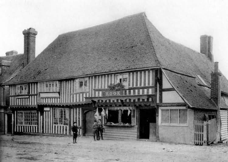 Hook Butchers Tenterden in about 1900