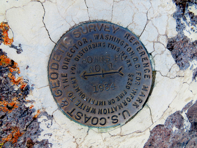 Bowns Point reference marker #1