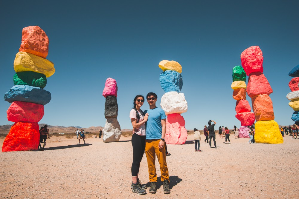 Seven Magic Mountains with HB