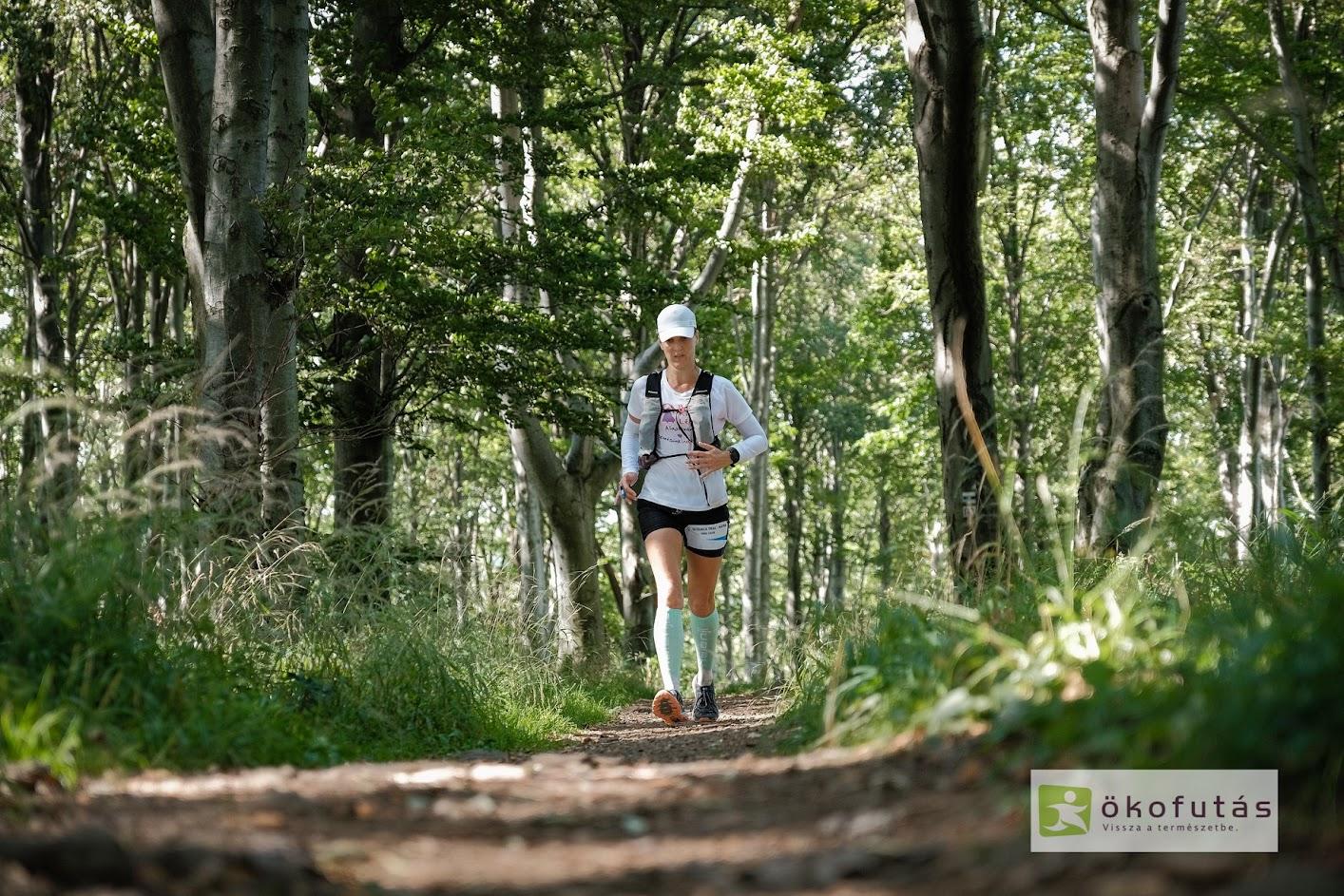Ökofutás, UltraKék Trail, Mátra, Galyatető, Terepfutás, Varga Szilvia, Interjú