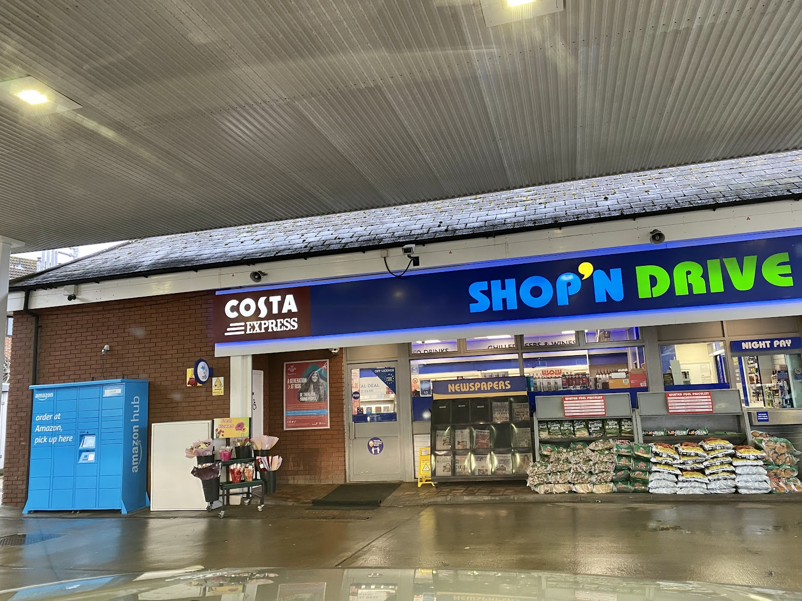 Esso St Michaels Tenterden Shop n Drive
