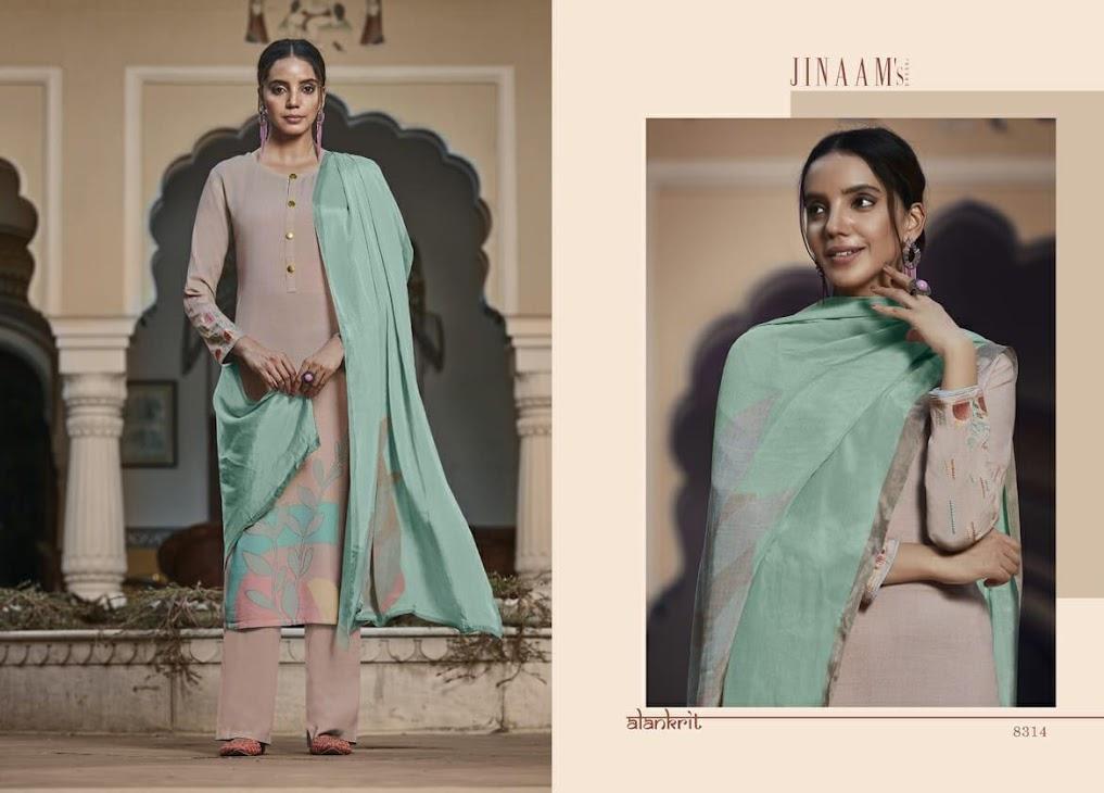 Ravya Jinaams Pashmina Dress Material Manufacturer Wholesaler