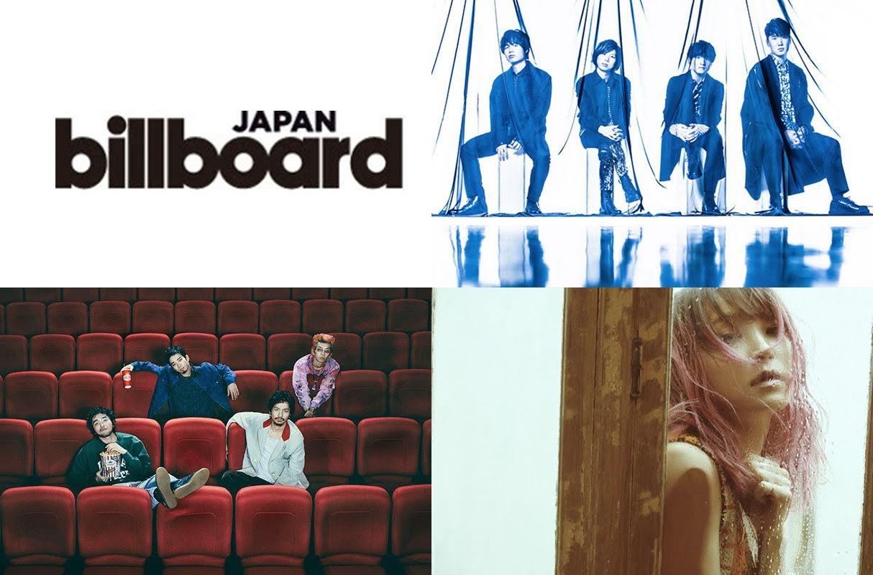 Billboard JAPAN HOT 100 日本2020年上半年人氣排行榜公開!