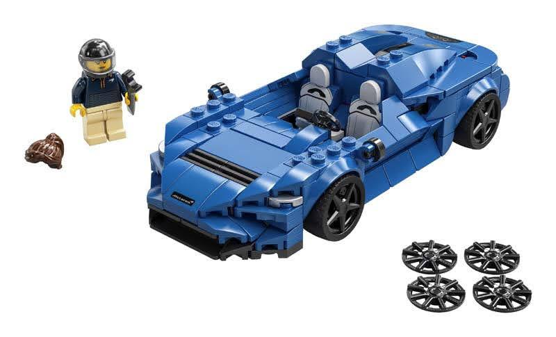 Contenido de LEGO® 76902 McLaren Elva