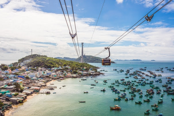 Sunworld Cable Car in Phu Quoc