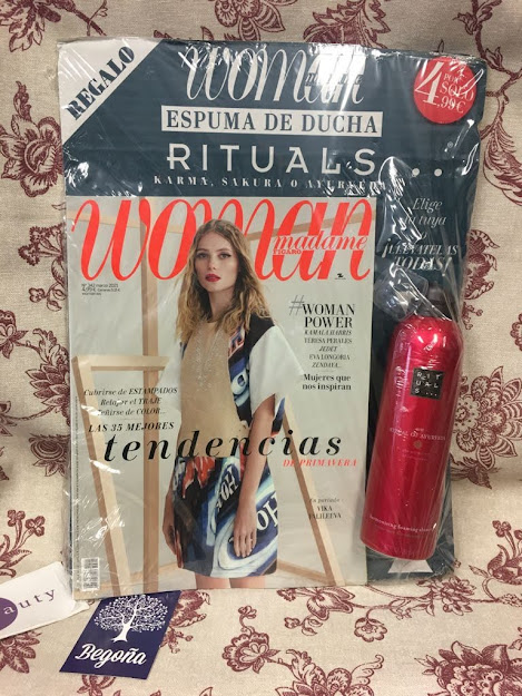 regalo revista woman marzo 2021