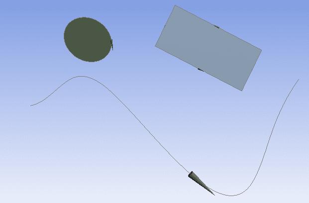 При тепловом расчёте отображение направления кромок позволяет убедиться, что направление потока во всех участках одной трубы одинаково.