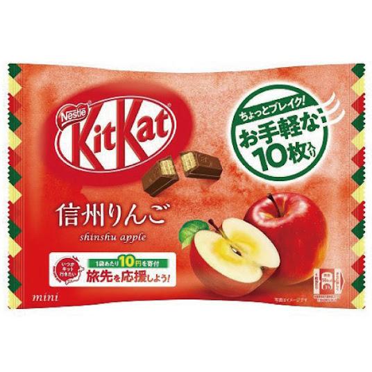 KitKat vị táo Shinshu