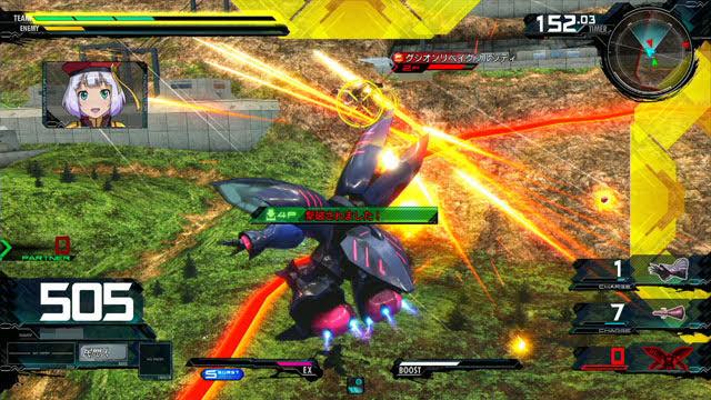 キュベレイMk-II(プル) メイン射撃→特殊射撃