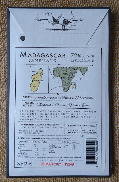72% dick taylor madagascar bar