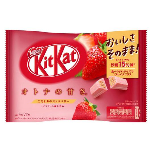 KitKat vị dâu tây - Strawberry - Nội địa Nhật Bản