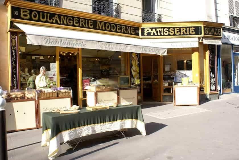 エミリー、パリへ行く パンオショコラのおいしいパン屋
