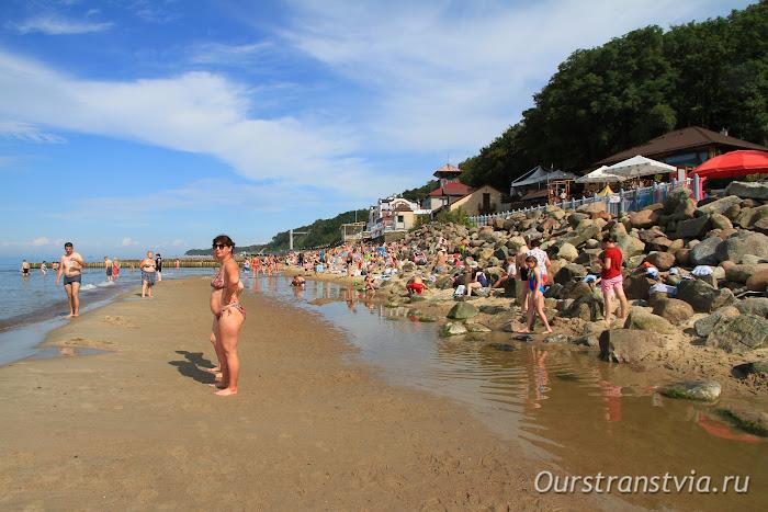 Пляжный отдых в Светлогорске