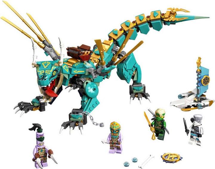Contenido de Lego® 71746 Dragón de la Jungla