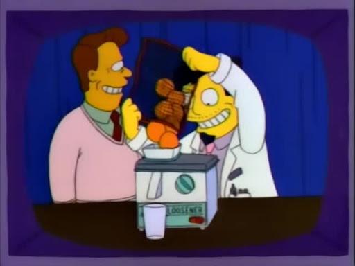 Los Simpsons 4x21 Marge en Cadenas