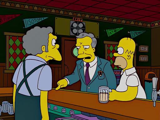 Los Simpsons 16x07 La Senorita Cerveza