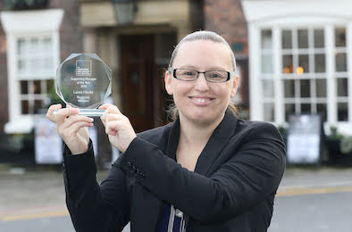Welshpool's Laura scoops roving role award