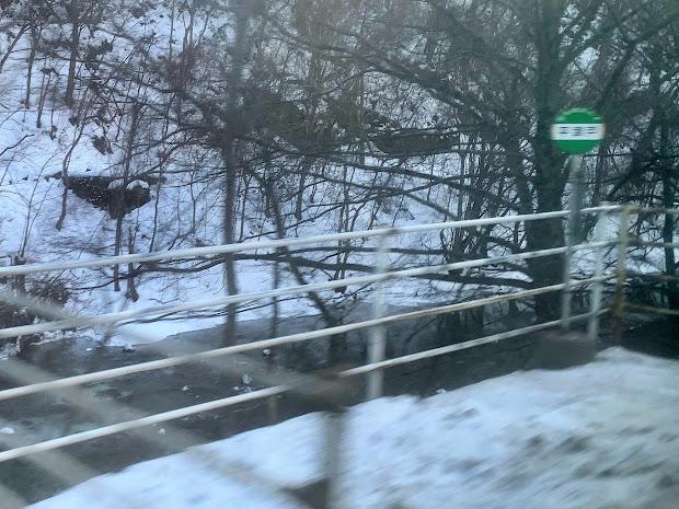 平津戸バス停