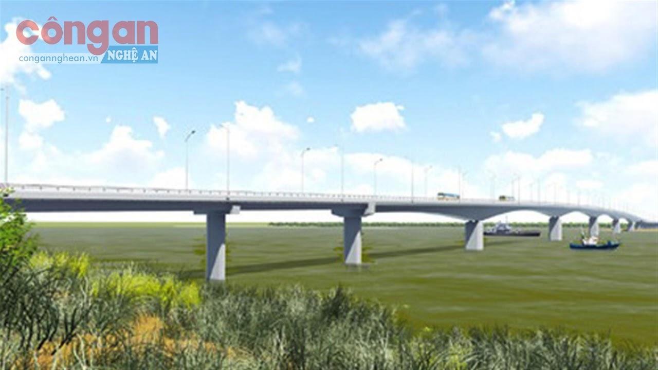 Cầu Cửa Hội đang được gấp rút triển khai chào mừng Đại hội đại biểu                 tỉnh Nghệ An nhiệm kỳ 2020 - 2025