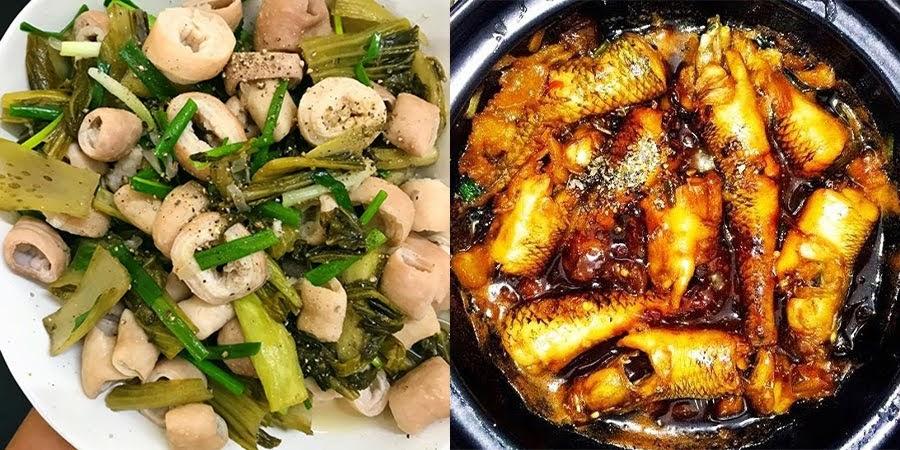 50 công thức món ăn mặn hàng ngày ngon cơm dễ làm