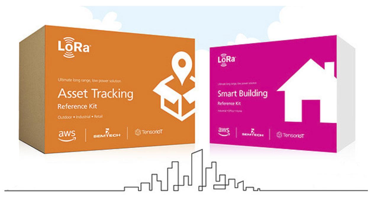 Semtech and AWS LoRa kits simplify IoT development.