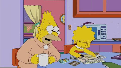 Los Simpsons 21x13 El color amarillo
