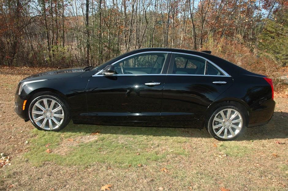 2015 Cadillac ATS4 Black