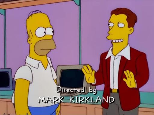 Los Simpsons 12x06 Amenaza Informática