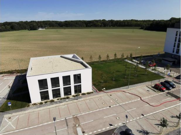 Budova budúcej škôlky. Zdroj: MČ Petržalka, Slnečnice
